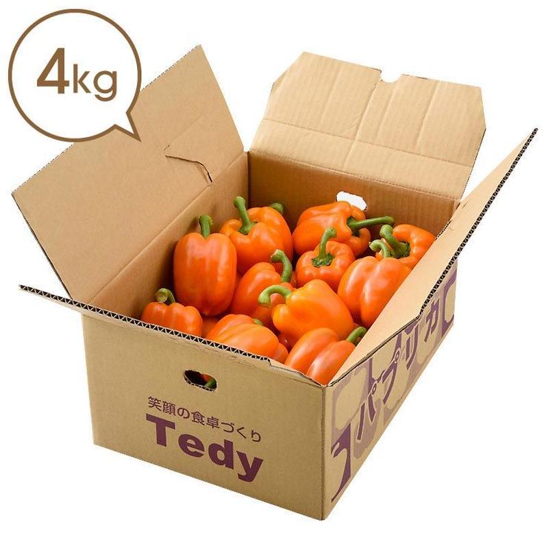 Tedyのパプリカ(橙)4kg詰め