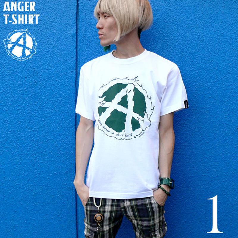 2週間セール!! har017tee - ANGER(アンガー)Tシャツ - HARIKEN ハリケン -G-