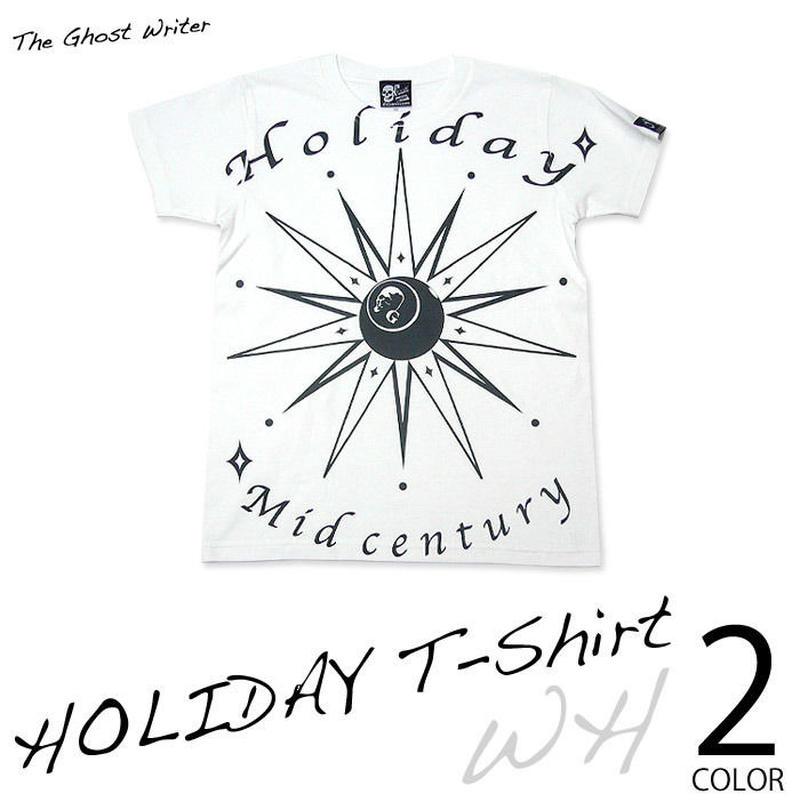 tgw027tee - HOLIDAY Tシャツ -G- スカル ドクロ ロックTシャツ 半袖 かっこいい