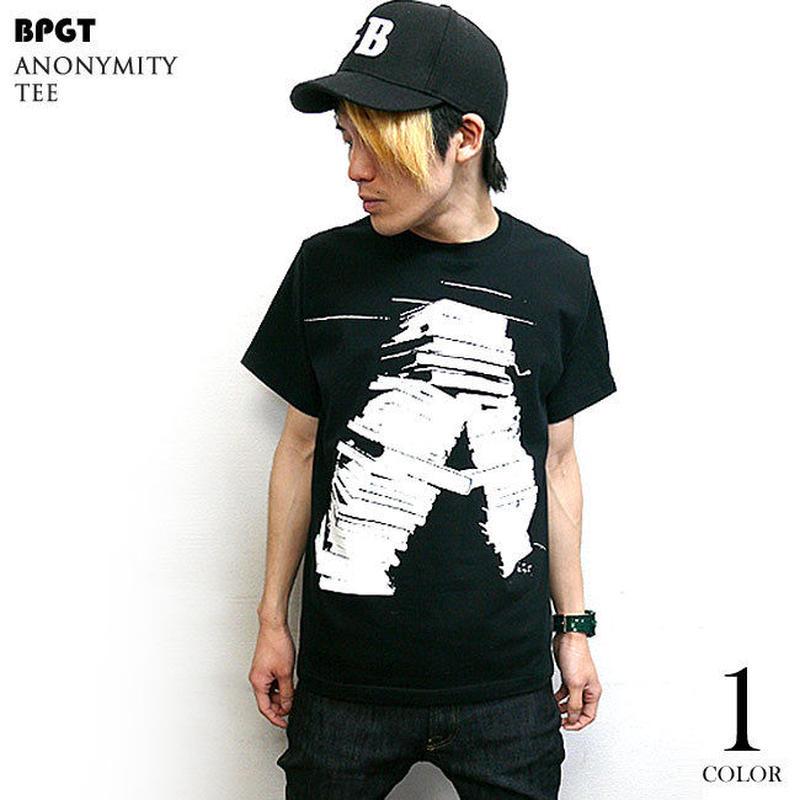 sp072tee-bk - anonymity Tシャツ (ブラック) -G- 半袖 黒色 Book 本 小説 アメカジ カジュアル 男女兼用