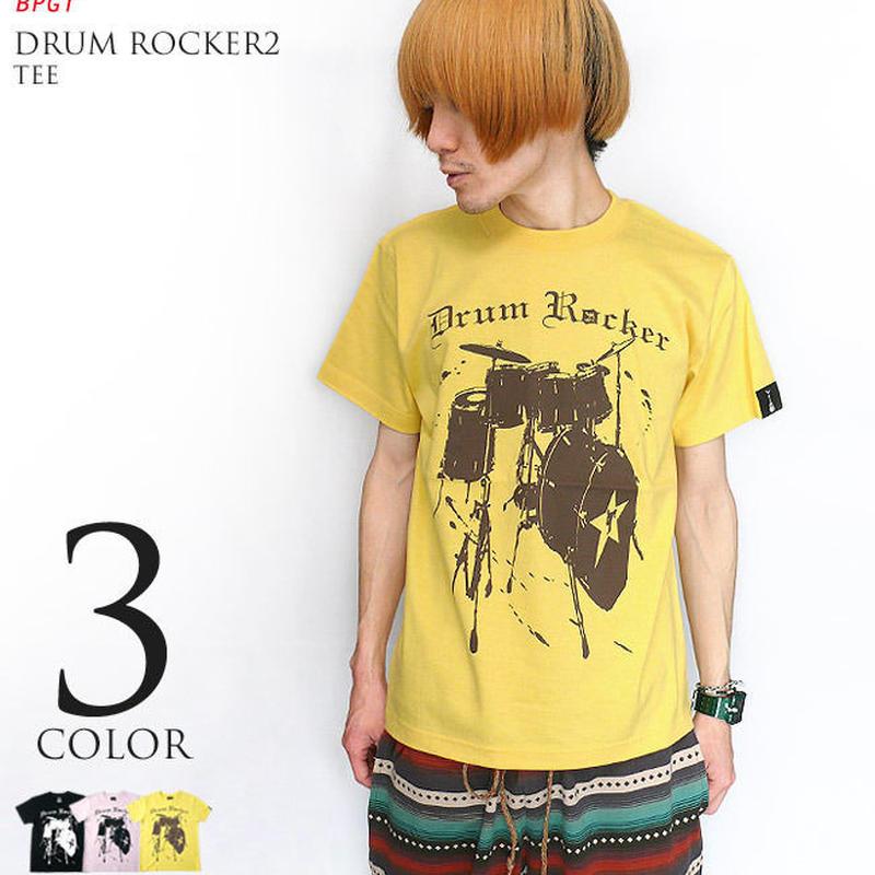 sp045tee - Drum Rocker2 Tシャツ - BPGT -G- ドラム ロック バンドTシャツ