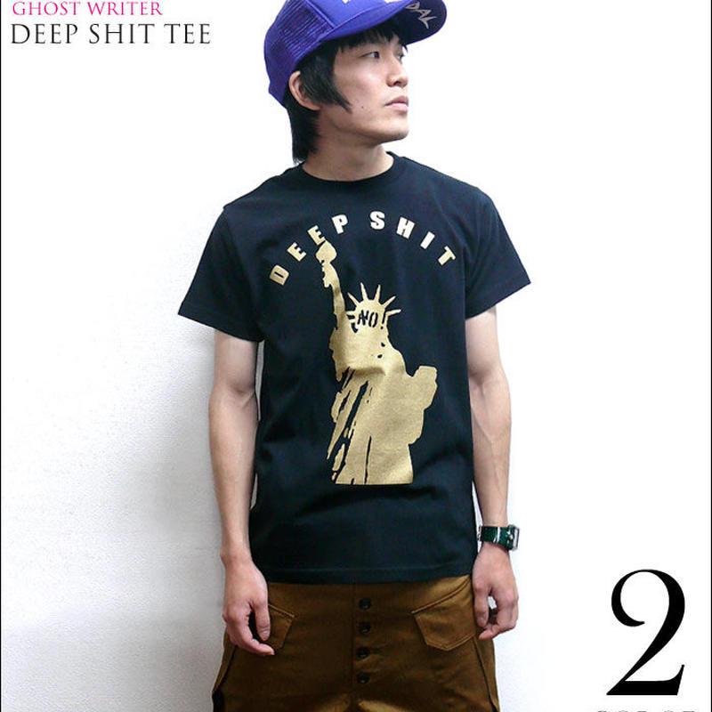 夏セール!! tgw007tee - Deep Shit Tシャツ - The Ghost Writer -G- PUNKROCK パンクロック USA アメリカ 自由の女神