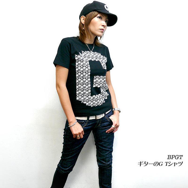 2週間セール!! sp037tee - ギターのG Tシャツ -G- ロックTシャツ バンド 半袖 メンズ レディース