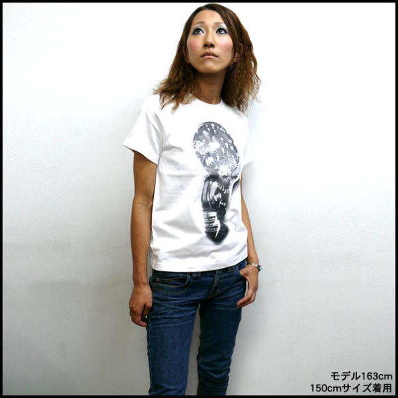 a03tee - 電撃 Tシャツ -G- ロック グラフィック カジュアル メンズ レディース 半袖