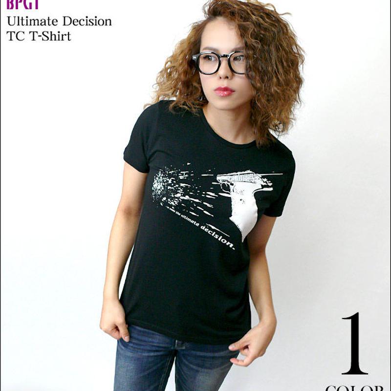 夏セール!! sp075tc - Ultimate Decision TC Tシャツ -G- パンク ロック PUNK ROCK ブラック 黒色系