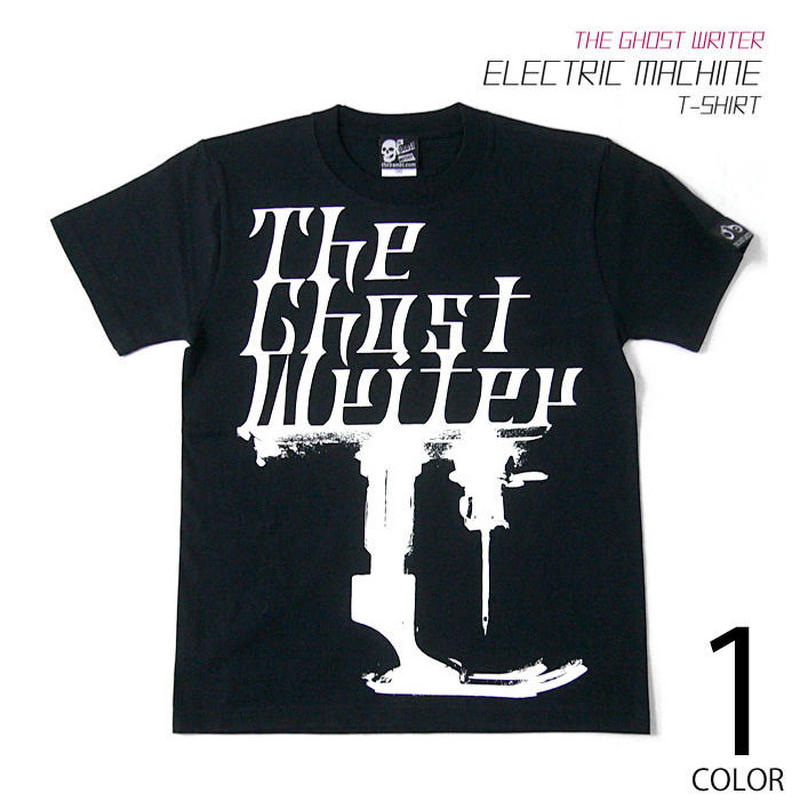 tgw034tee - electric machine Tシャツ - The Ghost Writer -G- パンク ロックTシャツ PUNK ROCK オリジナル