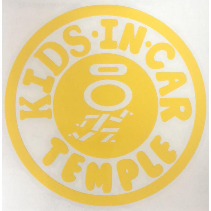 KIDS TEMPLE サークルカッティングステッカー