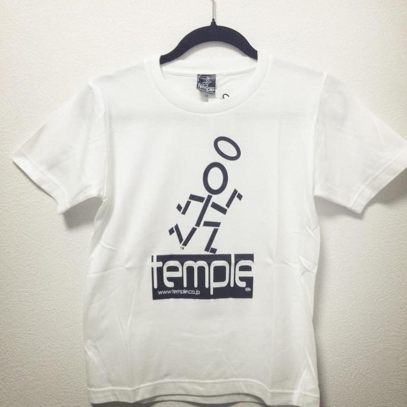 TEMPLE キッズTシャツ  Whiteサイズ150
