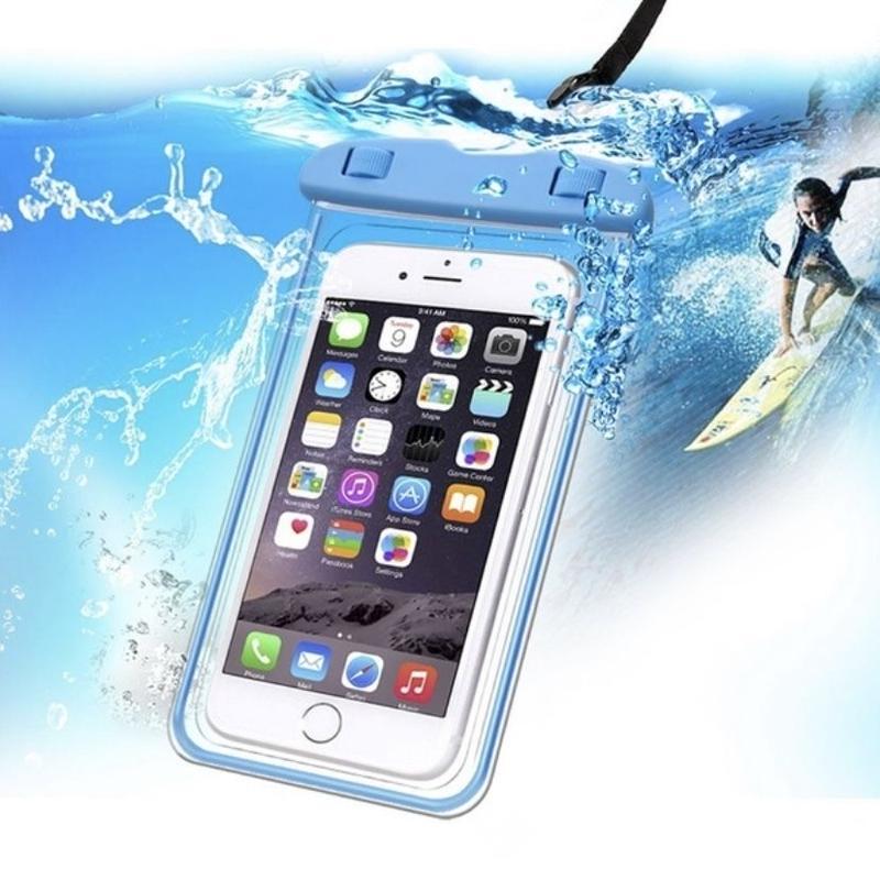 防水ケース スマホ汎用携帯防水ケース カバー 蛍光タイプ