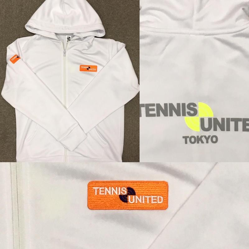 テニスユナイテッドレディスジップパーカー