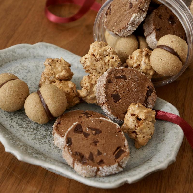 【2月3日(日)15時〜開催】暮らしにそうお菓子づくり|チョコレートのクッキーボトル
