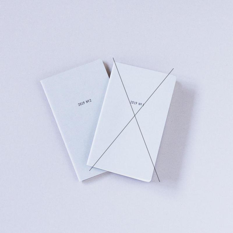 【後半No.2のみ  Only  No.2】ILEKO CALENDAR 2019 / イレコ手帳 2019