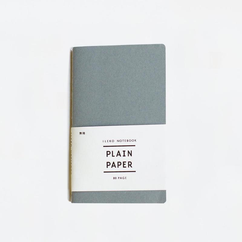 ILEKO NOTEBOOK plain / イレコノート 無地