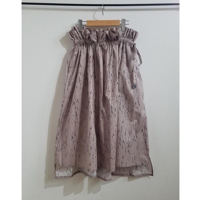 michirico[ミチリコ]/ Asymmetry skirt (womens)