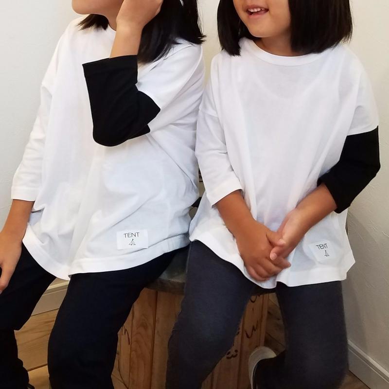 nunuforme×TENT[ヌヌフォルム×テント]/TENT別注カットソー(kids)