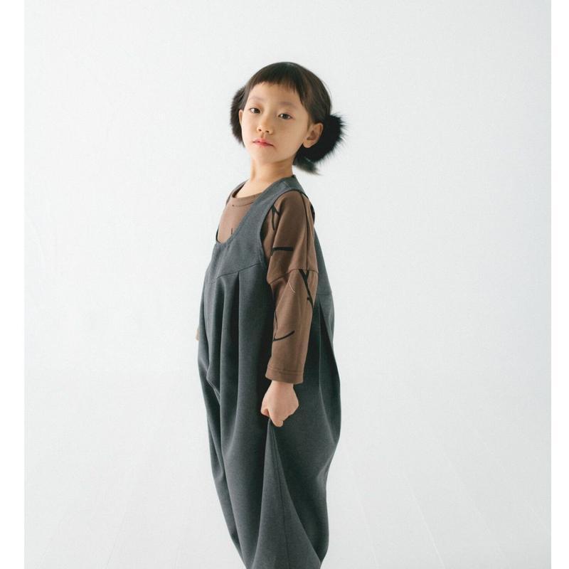 nunuforme (ヌヌフォルム)/ビッグパンツサロペット(kids)