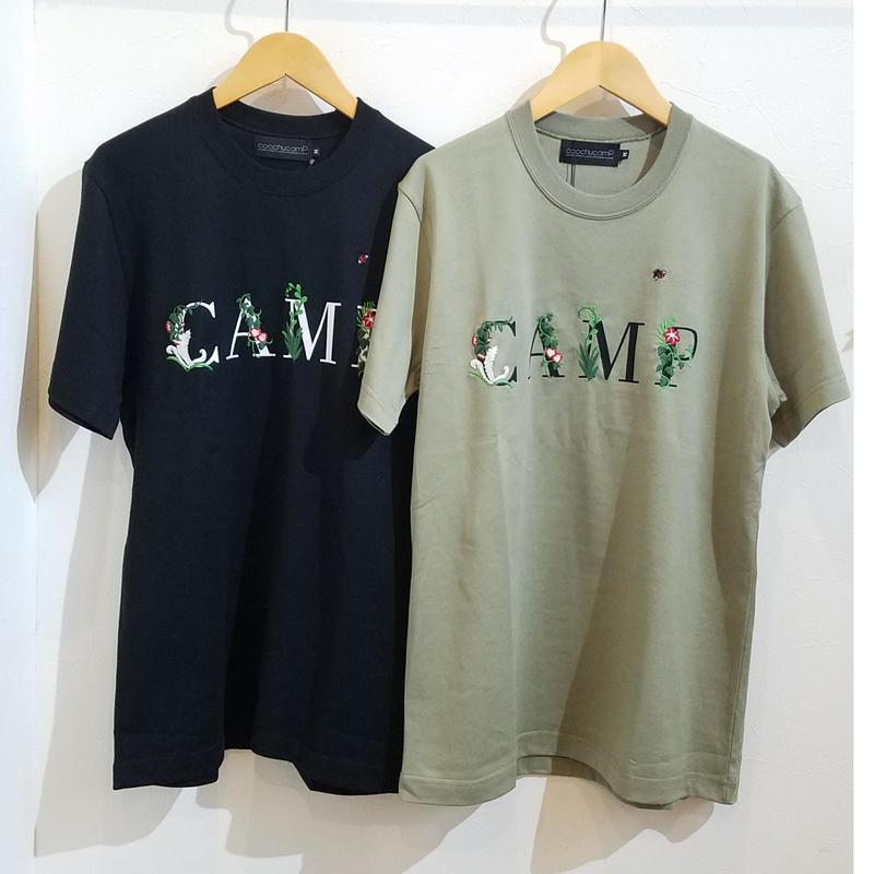 coochucamp[クーチューキャンプ]/Happy CAMP  T-Shirts