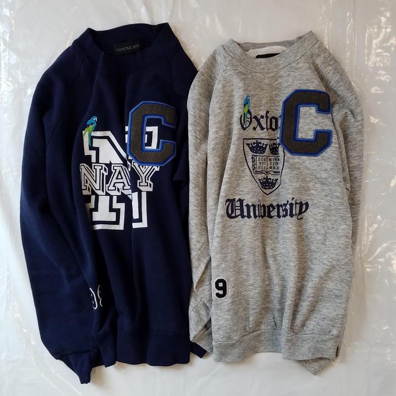 COOCHUCAMP[クーチューキャンプ]/Happy Special Sweat(College)