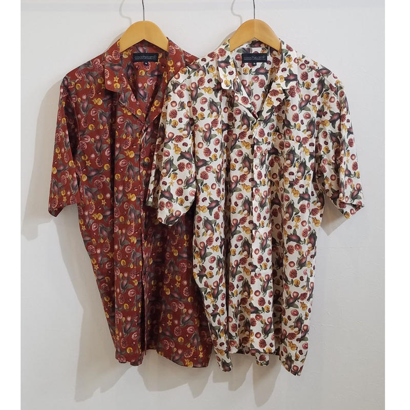 COOCHUCAMP[クーチューキャンプ] / Happy Open Collard Shirts