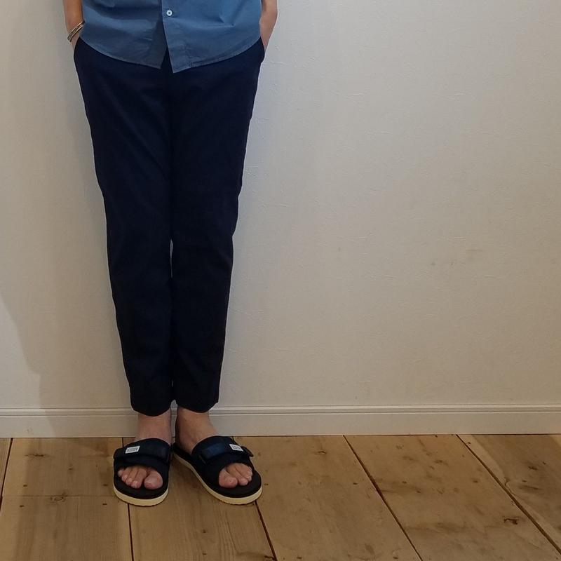 KAFIKA[カフィカ] / COOLMAX SUCKER TROUSERS CROP