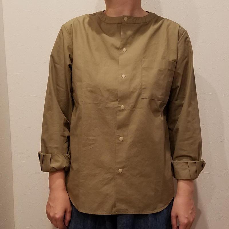 have a goo d day[ハブアグッドデイ]/no collar shirts