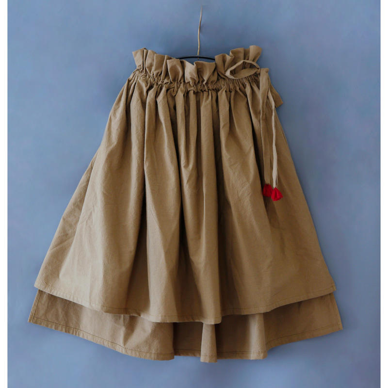 michirico[ミチリコ] / Asymmetry skirt (kids)