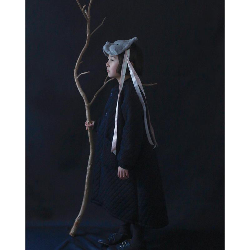 michirico[ミチリコ]/Quilting longcoat(kids  L)