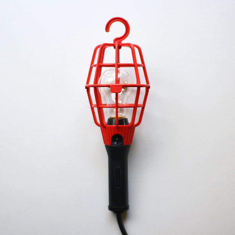 ヒゲじいランプ(赤・電球タイプ)