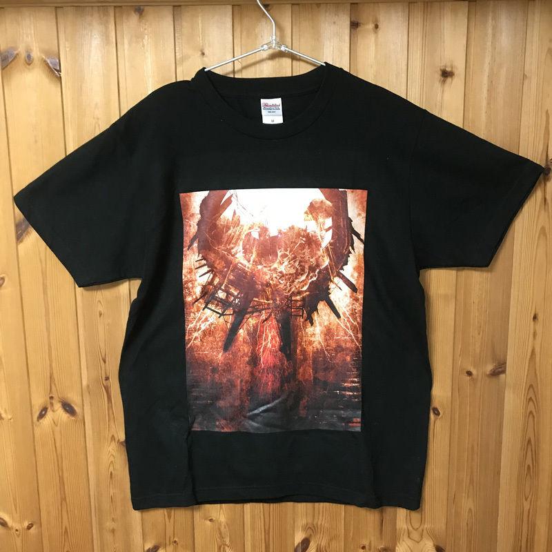 虚 両面プリントTシャツ(Born again)