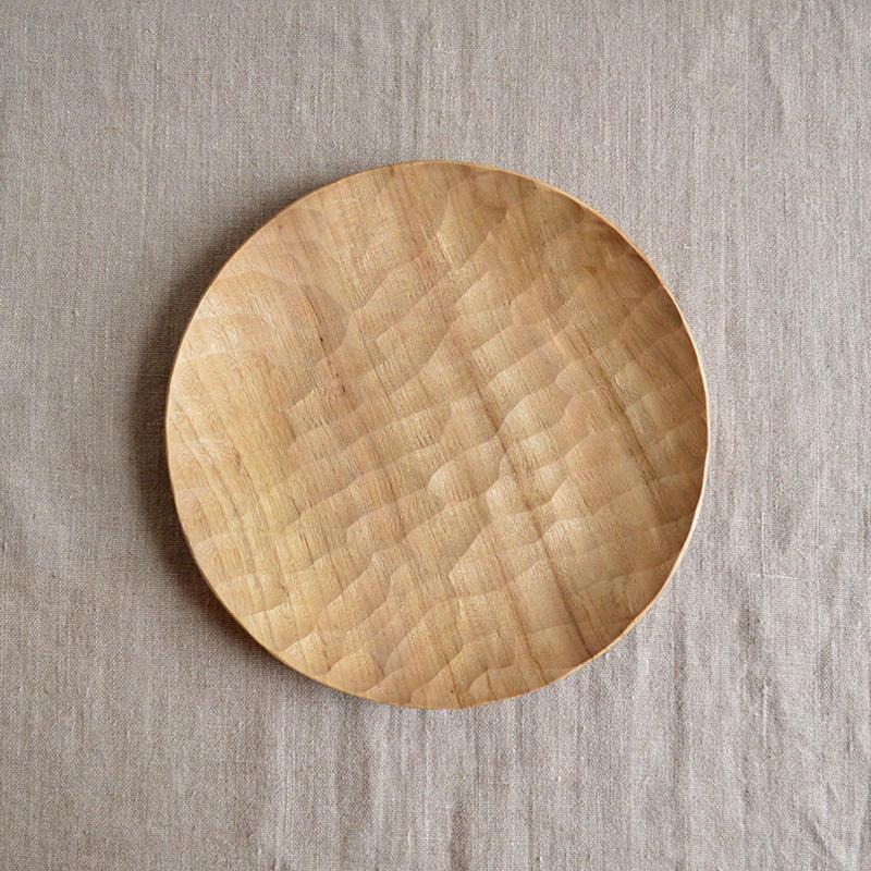 Akihiro Woodworks Wood Plate 210 ウッドプレート 21cm