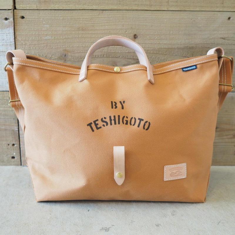 帆布LIFE Bag(キャメル)