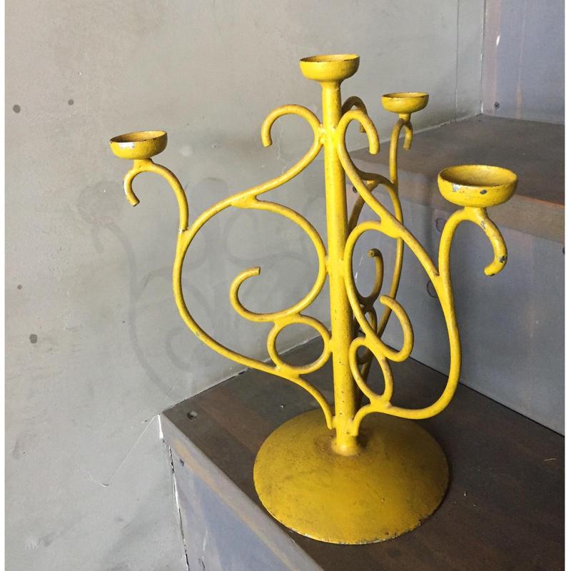 燭台/黄色