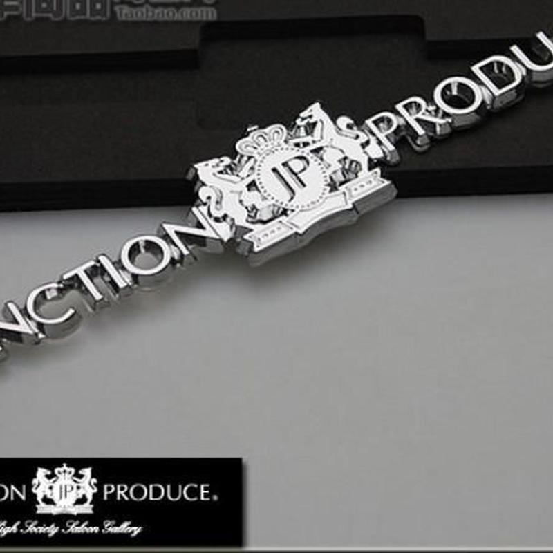 JP ジャンクションプロデュース★ラグジュアリークロームエンブレムシルバー★ゴールド