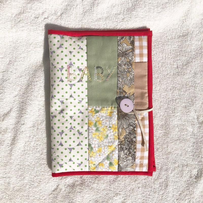 母子手帳ケース*名入れ刺繍