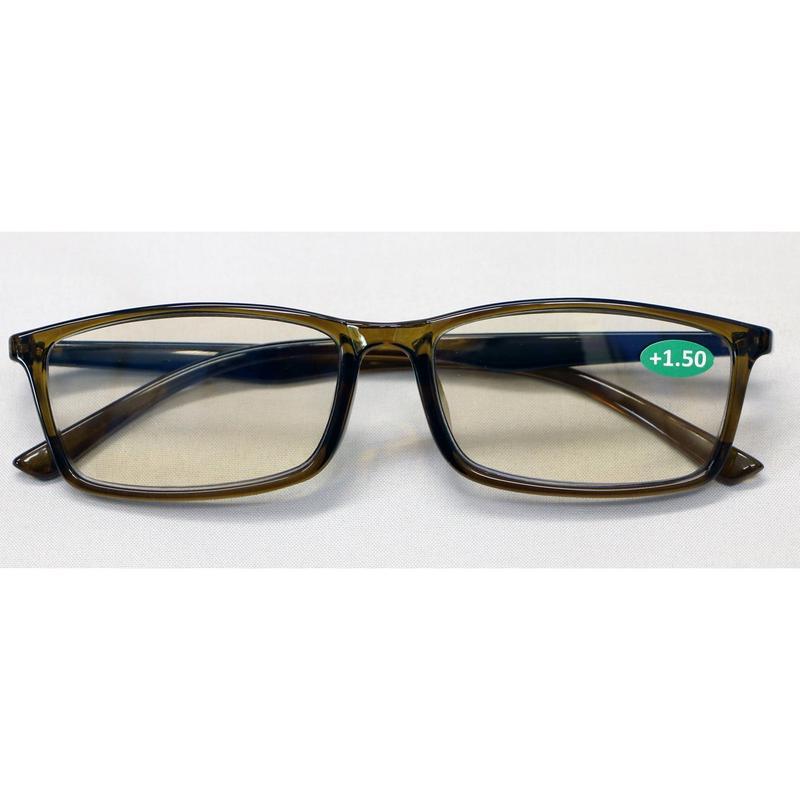 ブルーカット老眼鏡 2801PC/KH