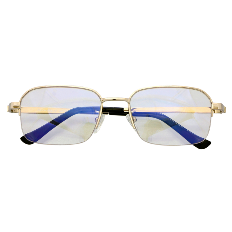 Zealot UV&Blue cut 境目の無い累進多焦点遠近両用シニアグラス(紳士用)