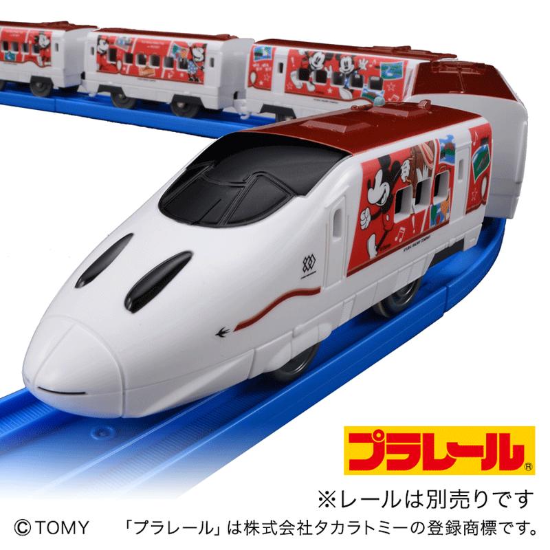 プラレール JR九州 Waku Waku Trip 新幹線 ミッキー&ミニー デザイン【D10Z38】