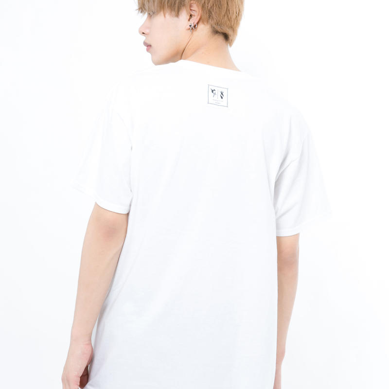 GRANBLUE FANTASY×SOLOMON Collaboration Logo T-Shirts(WHT)