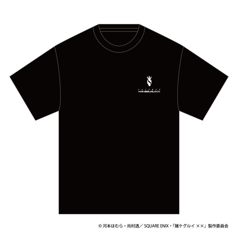 SOLOMON×賭ケグルイ××「桃喰綺羅莉 T-Shirts」(BLK)