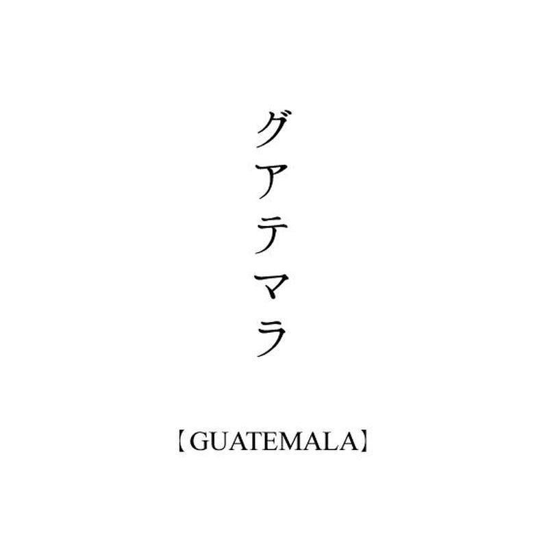 【売切】グアテマラ中煎り / 200g