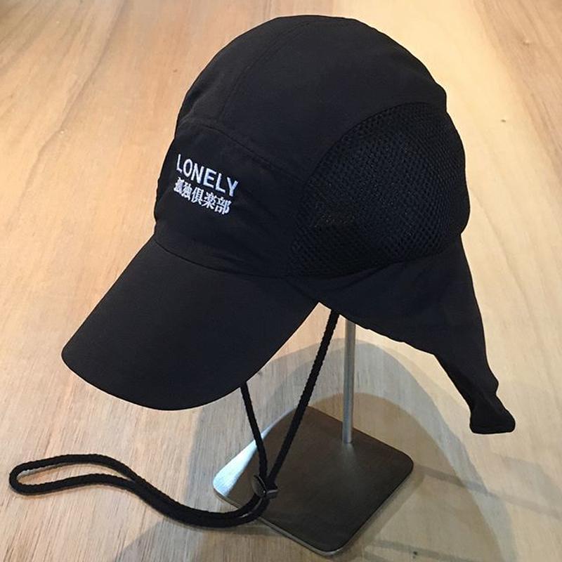 LONELY論理 #7 | SUDARE CAMP CAP (BLACK)
