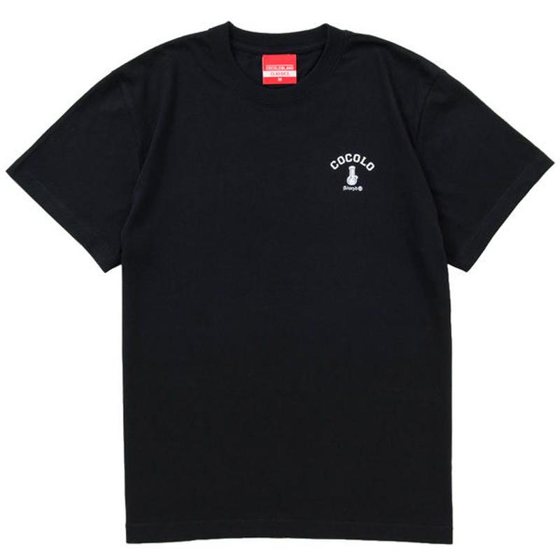 COCOLO BLAND / BACK BONG S/S TEE (BLACK)
