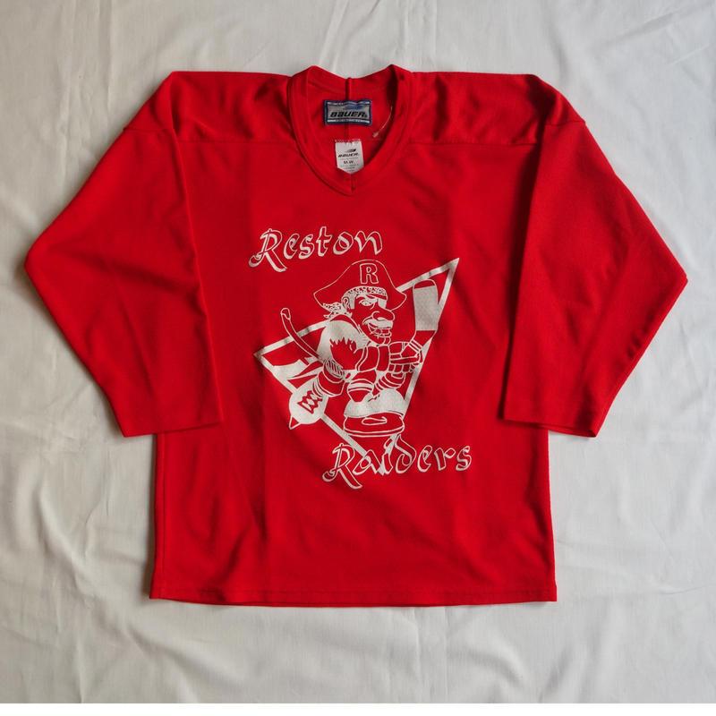 USED (古着)カナダ製ホッケーシャツ(レッド)