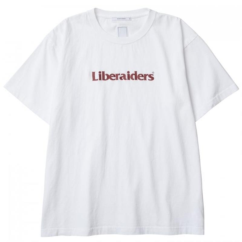 Liberaiders / OG LOGO TEE   (WHITE)