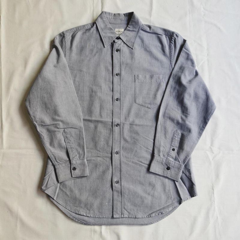 USED(古着)Cavin Klein Jeans オックスフォードシャツ(グレー)