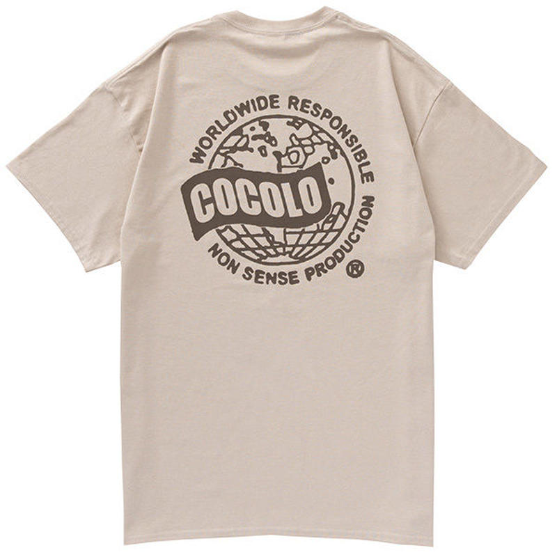 COCOLO BLAND / WORLD WIDE S/S TEE (SAND)