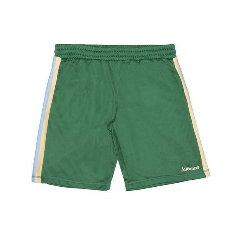 Alltimers / FOREIGN MESH SHORT (GREEN)