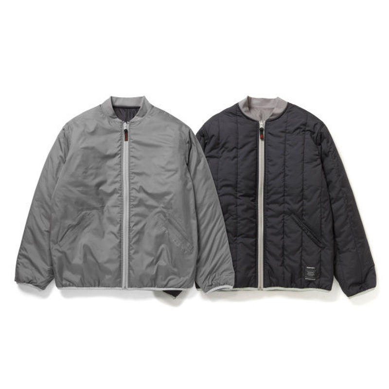 430 | QUILT LITE JACKET (GREY/NAVY)