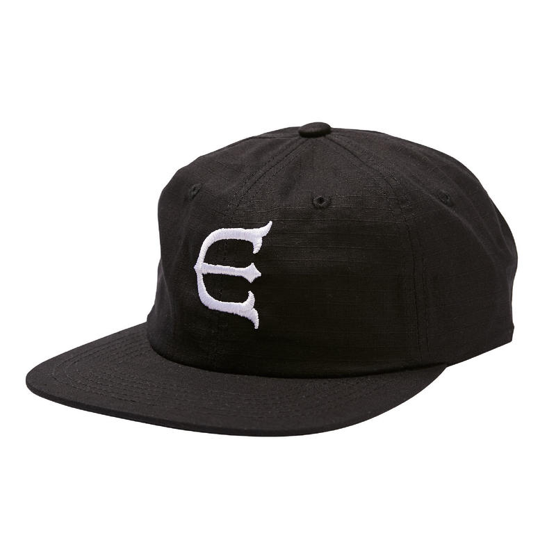 EVISEN SKATEBOARDSゑ®︎ | E LOGO OG CAP (Black)