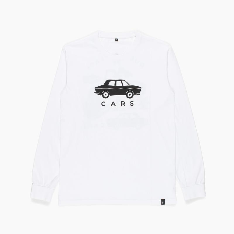 by Parra | longsleeve t-shirt gary's (white)